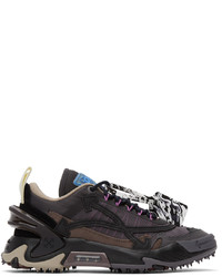 Off-White Black Brown Odsy 2000 Sneakers