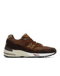 New Balance Brown Year Of The Ox 991 Sneakers