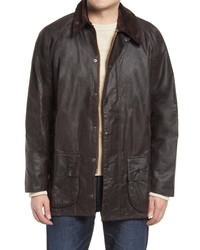Barbour Beaufort Water Resistant Waxed Cotton Jacket