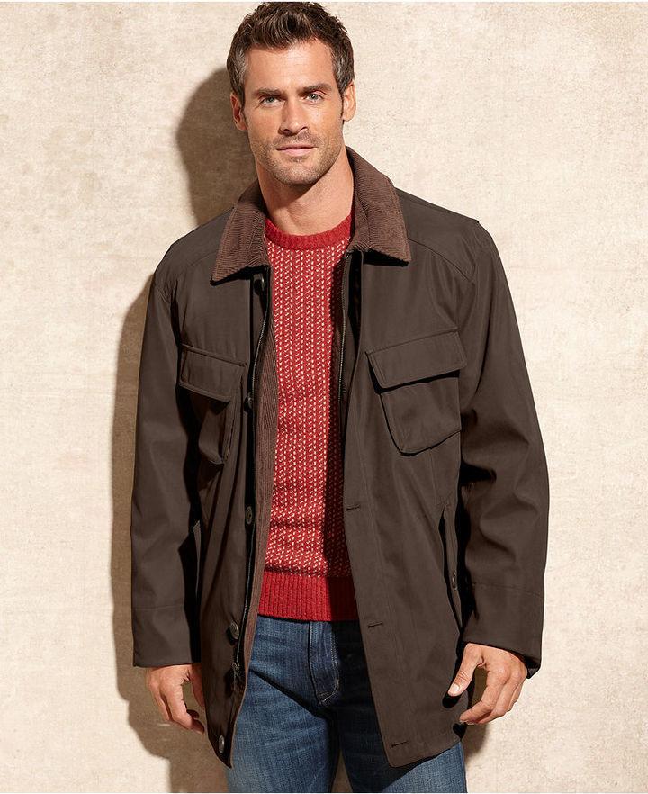 Mens corduroy barn jacket