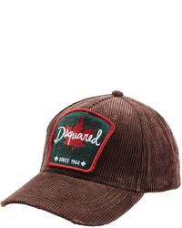DSQUARED2 Corduroy Baseball Cap
