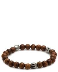 Cufflinks inc skull bead bracelet medium 1132079