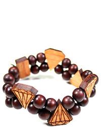 Domo Beads Double Bracelet Diamonds