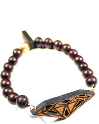 Domo Beads Jatoba Diamond Bracelet
