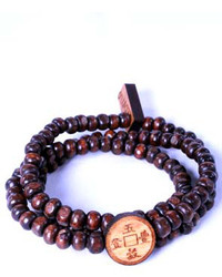 Domo Beads Wrap Bracelet Chinese Coin