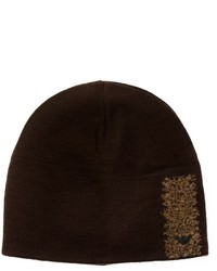 Emporio Armani Wool Detail Beanie Hat