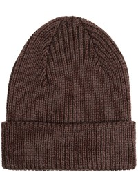 Jg Glover Co Peregrine By Jg Glover Rib Knit Beanie Hat Merino Wool