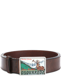 DSQUARED2 Canadian Country Buckle Belt