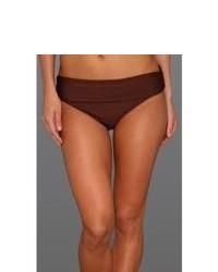 Dark Brown Bikini Pant