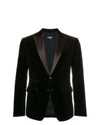DSQUARED2 Chic Velvet London Blazer