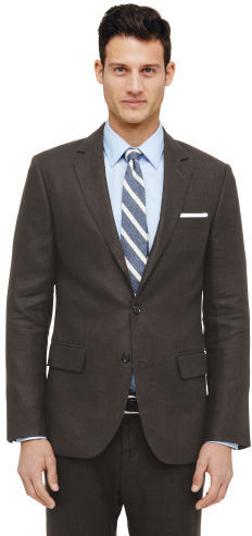 71b60153bc63 Club Monaco Grant Linen Suit Jacket, $398 | Club Monaco | Lookastic.com
