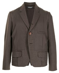 Undercover Deconstructed Single Breasted Blazer