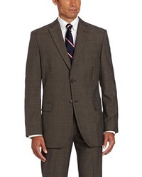 Haggar Glen Plaid Two Button Center Vent Suit Separate Jacket