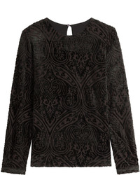 Etro Patterned Velvet Top