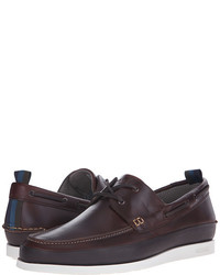 Paul Smith Jeans Branca Scotch Boat Shoes