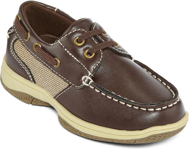 17e3dfbc2843 Okie Dokie Brett Boys Boat Shoes Toddler