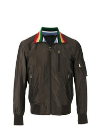 Paul Smith Contrast Collar Bomber Jacket