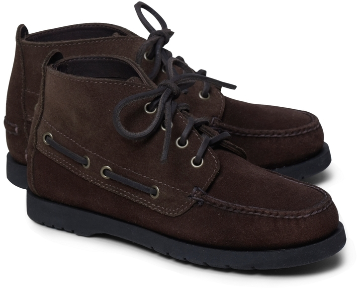 Brooks Brothers Chukka Boat Boots