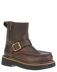 Rocky Georgia Boot Boys Side Zip Boots Brown