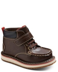 Eddie Bauer Toddler Boys Mock Toe Strap Boots Brown