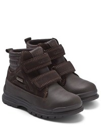 Geox William Waterproof Dark Brown Casual Boot