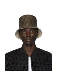 Fendi Reversible Beige Forever Bucket Hat