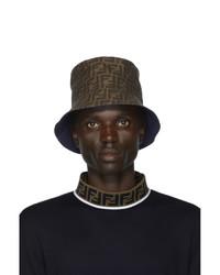 Fendi Reversible Blue Forever Bucket Hat