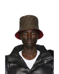 Fendi Reversible Red Forever Bucket Hat