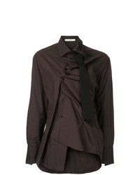 Aganovich Asymmetric Fitted Shirt