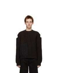 Bottega Veneta Brown Knit Wool Sweater