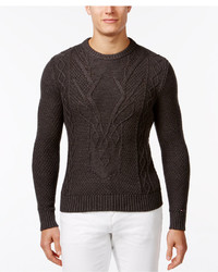 Tommy Hilfiger Stag Party Cable Knit Sweater