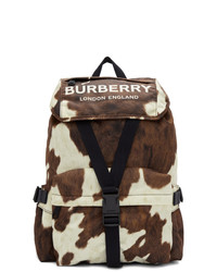 Dark Brown Canvas Backpack