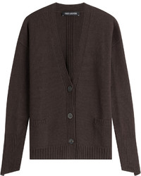 Dark Brown Cardigan