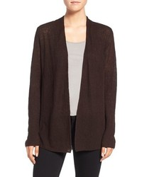 Eileen Fisher Organic Linen Shaped Cardigan