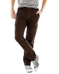 Dark Brown Cargo Pants