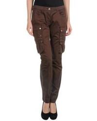 Dark Brown Cargo Pants for Women   Women's Fashion
