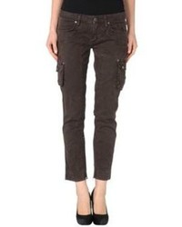 Dark Brown Cargo Pants for Women | Women's Fashion