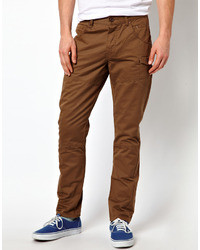Dark Brown Cargo Pants for Men | Men's Fashion
