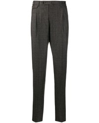 Pt01 Tailored Checked Trousers