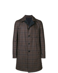 Etro Checked Mid Coat