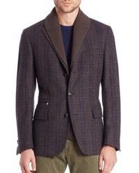 Corneliani Multicheck Id Jacket