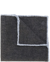 Eleventy Checked Pocket Square