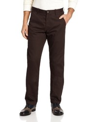 Haggar Lk Life Khaki Slim Fit Flat Front Chino Casual Pant
