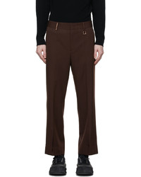 Wooyoungmi Tapered Stitch Cropped Trousers