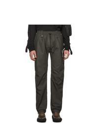 Blackmerle Taupe Drawstring Trousers