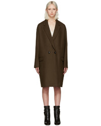 Isabel Marant Brown Filipa Coat