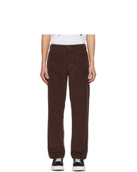 MSGM Brown Corduroy Trousers