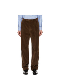 Gucci Brown Cotton Corduroy Trousers