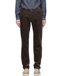 Giorgio Armani Brown Corduroy Trousers