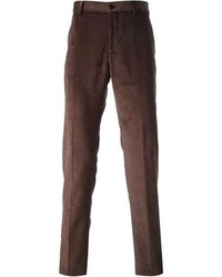 Etro Straight Leg Corduroy Trousers